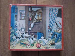 Kolibri 1311 - De wolf en de zeven geitjes 1