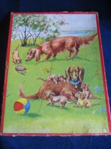 Kolibri 1841 - Teckel met pups 1