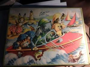 Kolibri 676-1 Dieren in reddingsboot de Mermaid 5-8 jaar 1