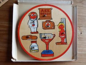 Kolibri 9341 - Puzzelschijf - De dokter 2