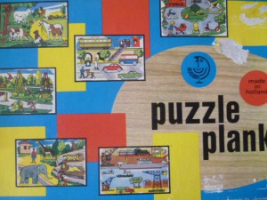 Kolibri 9771 - PuzzlePlank - Het verkeer 1
