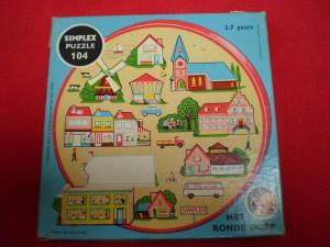 Simplex 104 Het ronde dorp 1