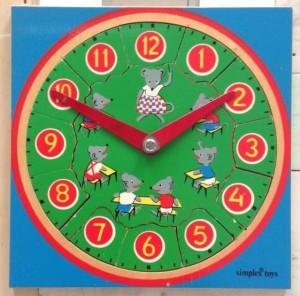 Simplex 1115 - Vierkant - Puzzleklok 2