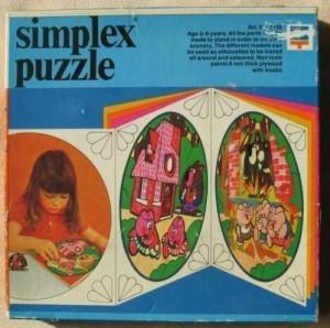 Simplex 1136 - Vierkant - De 3 biggetjes 1