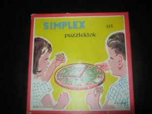 Simplex 115 Puzzleklok 1