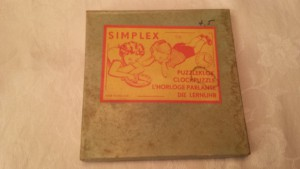 Simplex 115 - Puzzleklok - Duinroos 1