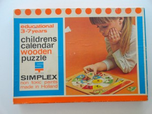 Simplex 1158 - Childrens Calendar 1