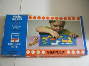 Simplex 1170 - Wooden Duck board 1