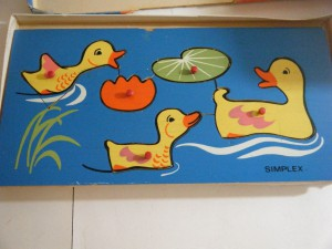 Simplex 1170 - Wooden Duck board 2