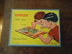 Simplex 158 Kiddies Calendar 1