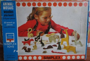 Simplex 162 - Animal-Mosaic 1