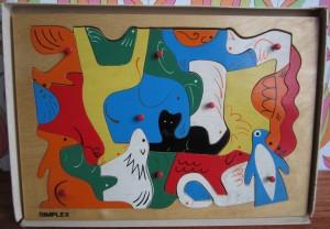 Simplex 162 - Animal-Mosaic 2