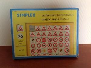 Simplex 165 Verkeerstekens Puzzle 1