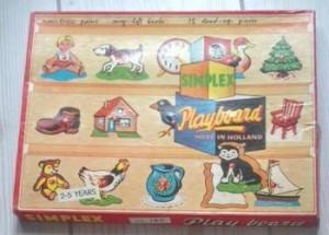 Simplex 180 - Play-board 1