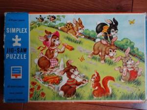 Simplex 605-E-48 - Rene Michaelis - Spelende konijnen 1
