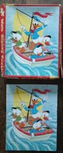 kolibri 0183 35s Donald met neefjes in zeilboot 2