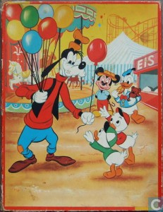kolibri 0183 35s Goofy op de Kermis deelt ballonnen uit 1
