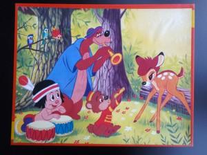 kolibri 0184 Muziek maken voor Bambi 1