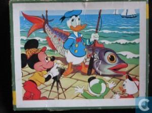 kolibri 0357 disney donald vangt een vis 4-6 jaar