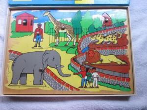 kolibri 9791 puzzelplank circus 2