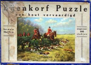 K Puzzle - Bijenkorf Puzzle - Jacht scene 1