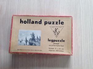 K Puzzle - Holland Puzzle - Schepen bij dorp - 300s 1