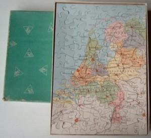 K Puzzle Nederland Groen 1