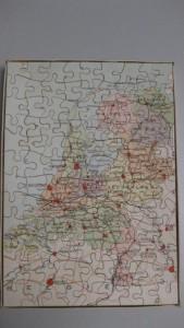 K Puzzle Nederland Rood 2