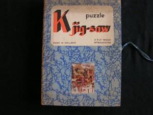 K jig-saw - Postkoets in de winter 1