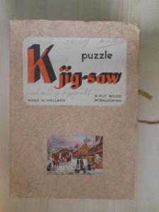 K jig-saw - Wintertafereel 1