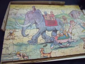 k puzzle 827 7-12j kinderen mammoet 2
