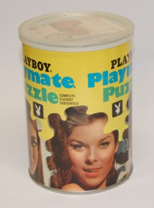AP107 DeDe Lind Playboy Playmate Puzzle Small Can AP107 1