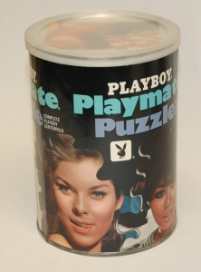 AP109 Paige Young Playboy Playmate Puzzle Small Can AP109 1