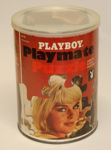 AP118 Avis Miller Playboy Playmate Puzzle Small Can AP118 1