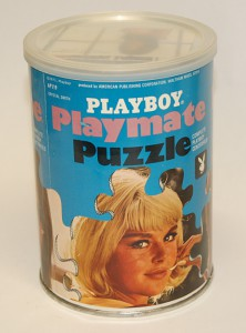 AP119 Crystal Smith Playboy Playmate Puzzle Small Can AP119 1