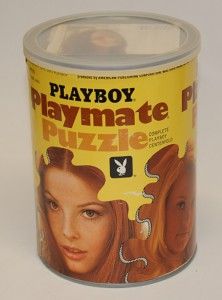 AP123 Bonnie Large Playboy Playmate Puzzle Small Can APO123 1
