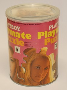 AP124 Martha Smith Playboy Playmate Puzzle Small Can APO124 1