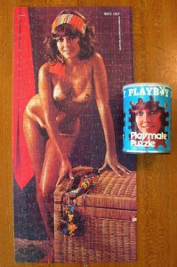 AP131 Carol O'Neil Playboy Playmate Puzzle Small Can APO131 2