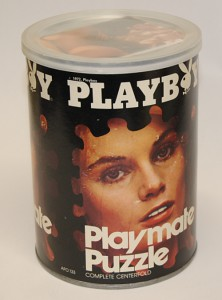 AP133 Vicki Peters Playboy Playmate Puzzle Small Can APO133 1
