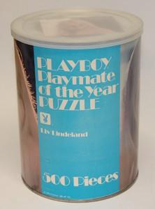 AP153 Liv Lindeland Playboy Playmate Puzzle Large Can AP153 1