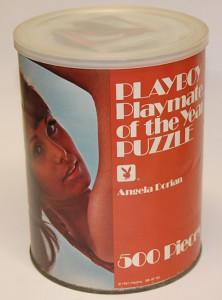 AP155 Angela Dorian Playboy Playmate Puzzle Large Can AP155 1