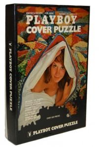 AP172 Playboy Cover Puzzle Quilt Box Jigsaw Puzzle Box AP 172 1