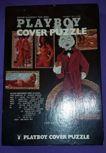 AP173 Playboy Cover Puzzle Anniversary Box Jigsaw Puzzle Box AP 173 1
