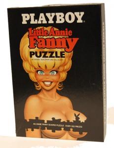 AP174 Playboy Puzzle Little Annie Fanny Box Jigsaw Puzzle Box AP 174 1