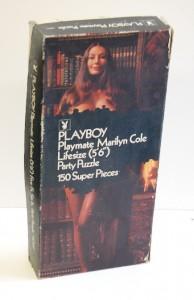 AP192 Marilyn Cole Lifesize Playboy Playmate Puzzle Vintage AP192 1