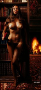 AP192 Marilyn Cole Lifesize Playboy Playmate Puzzle Vintage AP192 2