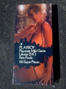 AP194 Miki Garcia Lifesize Playboy Playmate Puzzle Vintage AP194 1