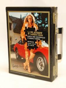 AP3218 Kymberly Herrin Playboy Playmate Puzzle Vintage Suitcase AP3218 1