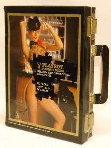 AP3219 Gig Gangel Suitcase Playboy Playmate Puzzle Vintage AP3219 1