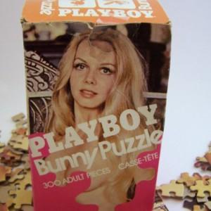 Playboy Bunny Puzzle Box - 1976 - 1a